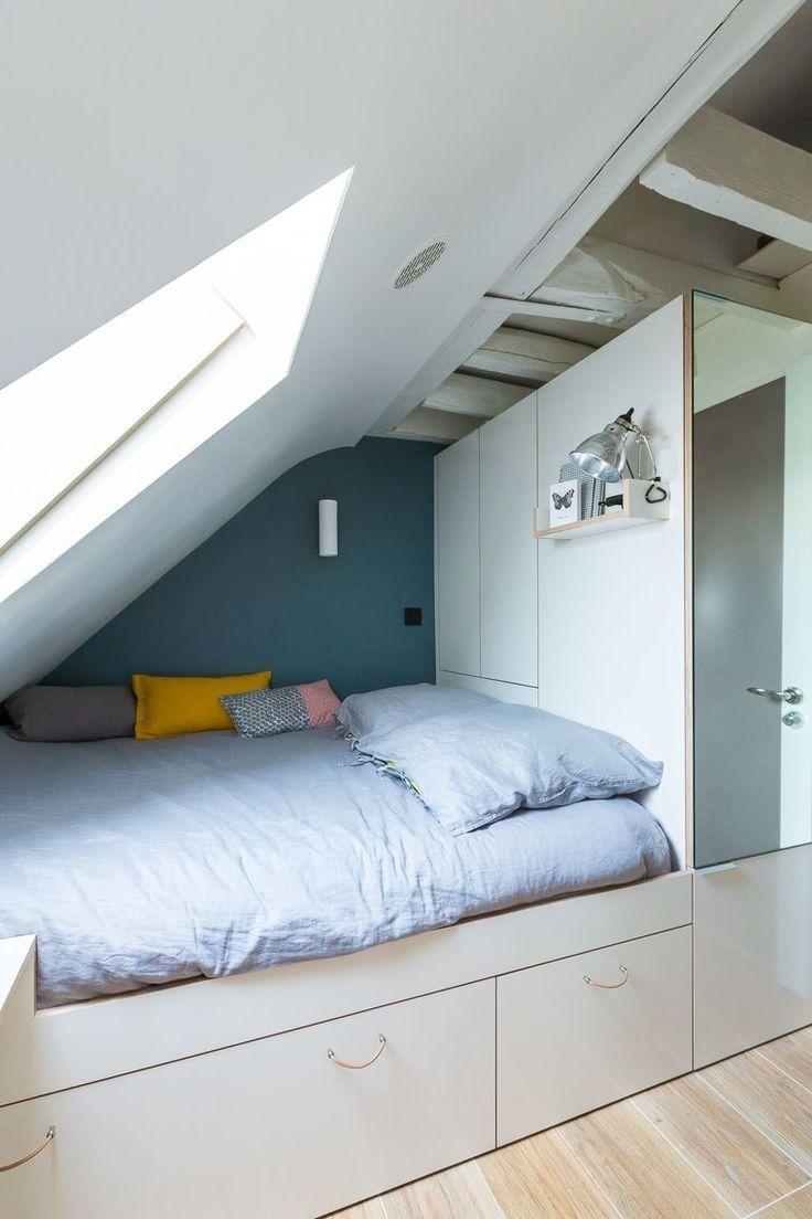 Studio Paris 2 : chambre de bonne optimisée et modernisée – #Bonne #chambre #d…