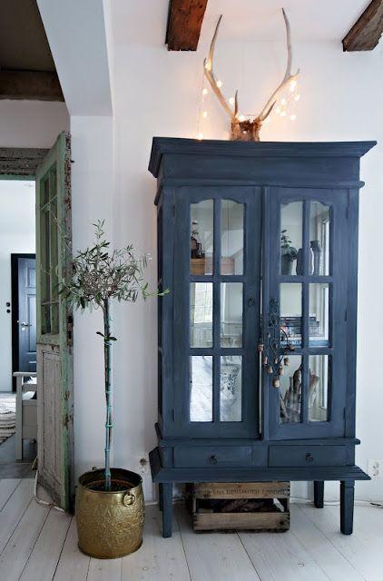 Style classique: le bleu et le blanc créent l'accord parfait dans toutes les maisons