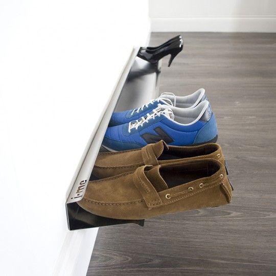 Support à chaussures mural: Gamme de chaussures