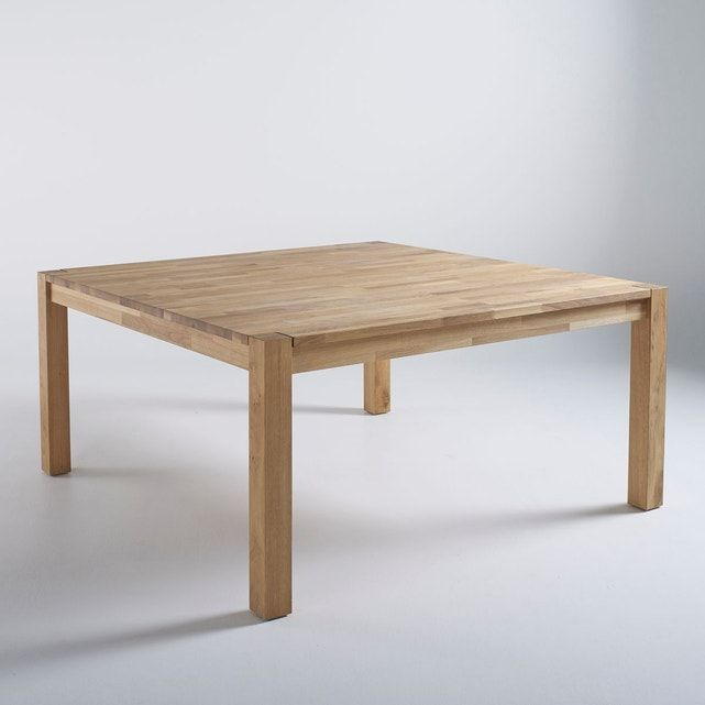 Table À Manger Carrée, 8 Couverts, Adelita – Taille : 8 pers