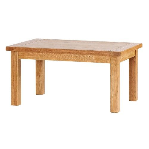 Table Basse Rectangulaire.  Meubles traditionnels en chêne massif aux lignes é…