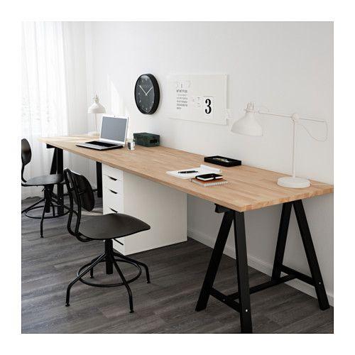 Table GERTON – hêtre, noir blanc