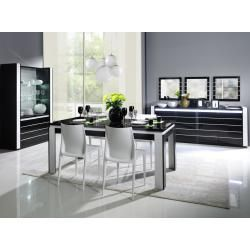 Table à manger Mexique blanc / miel, extensible, pin, Shabby Furniture Landhaus 1a direktimport1a direktimpo