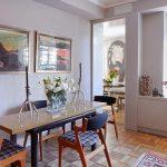 Table à manger étroite qui peut doubler comme un simple poste de travail # petits espacesdécorat ...