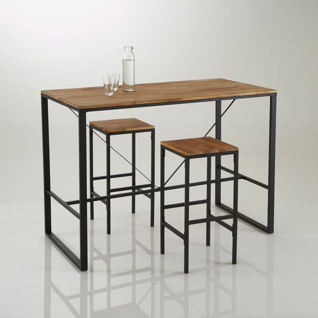 Table bar haute, Hiba
