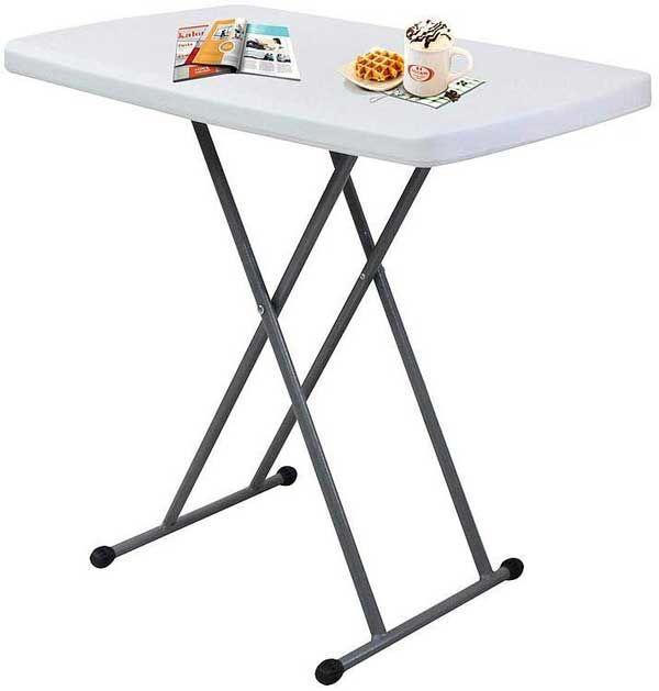 Table compacte et pliable