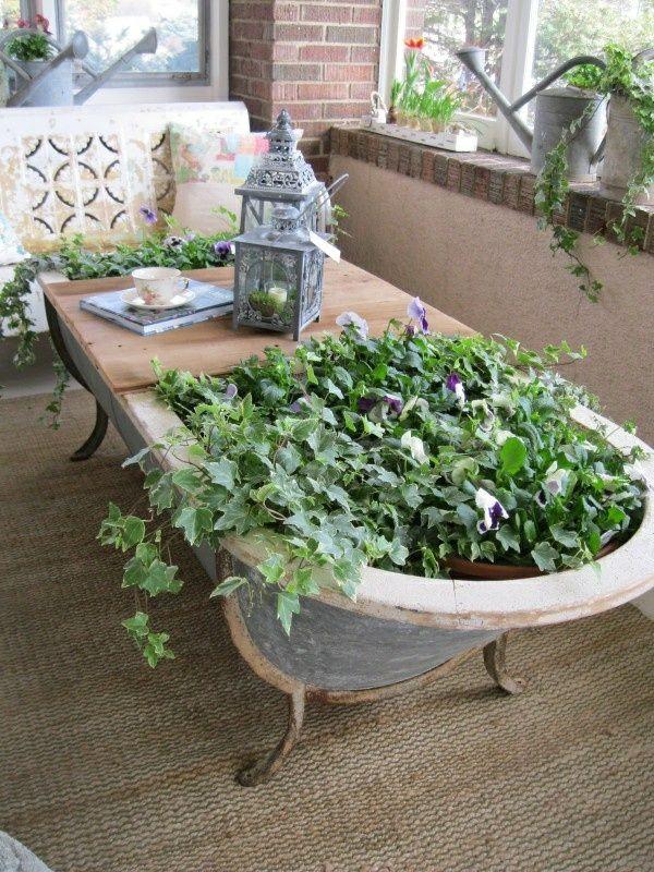 Table de jardin à construire soi-même – Idées artisanales de meubles de jardin