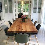 Table de salle à manger Table en bois massif Table en chêne sur mesure | Bois-Hambur ...