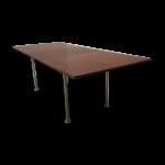 Table de salle à manger extensible par Aalfred Hendrickx pour Belform années 6...