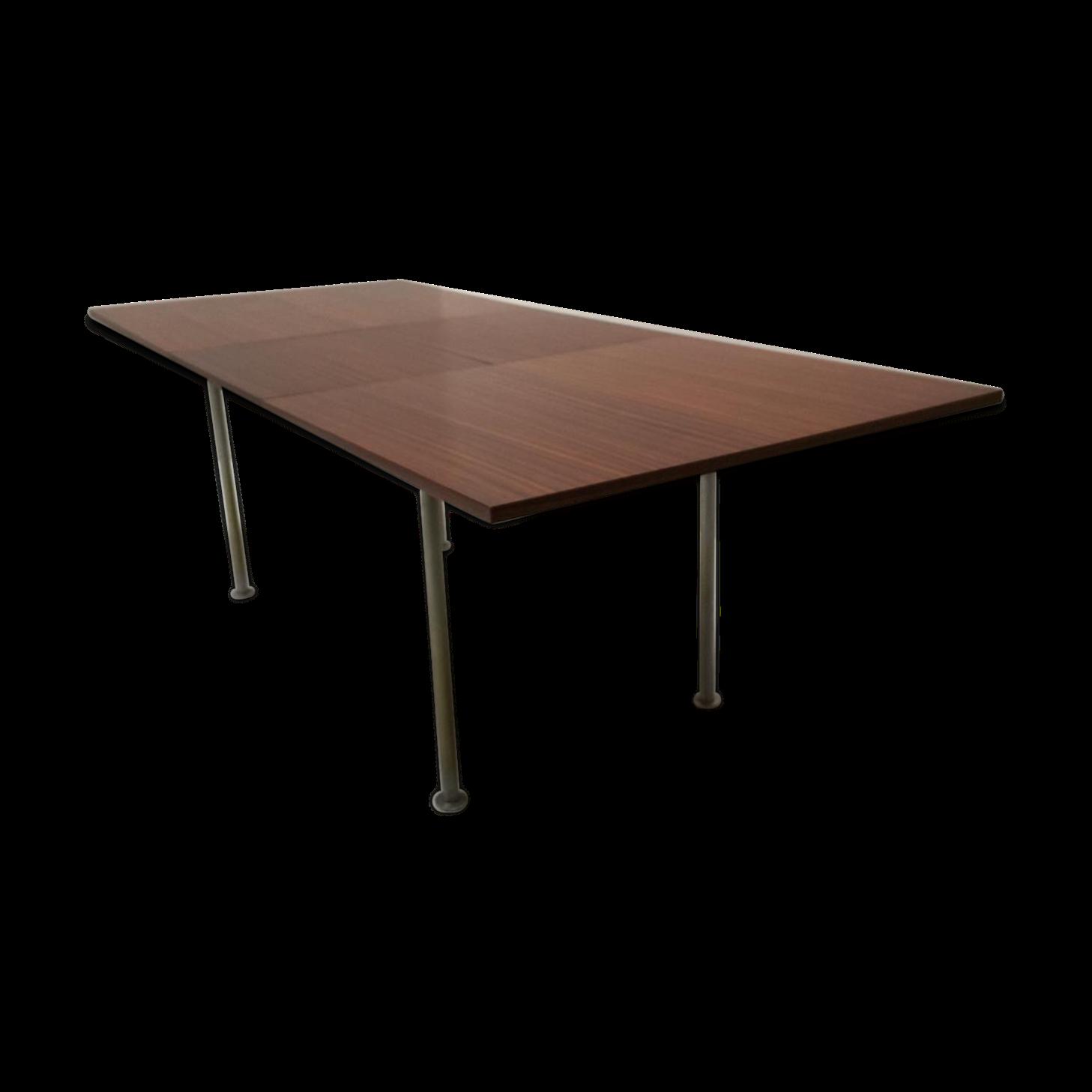 Table de salle à manger extensible par Aalfred Hendrickx pour Belform années 6…