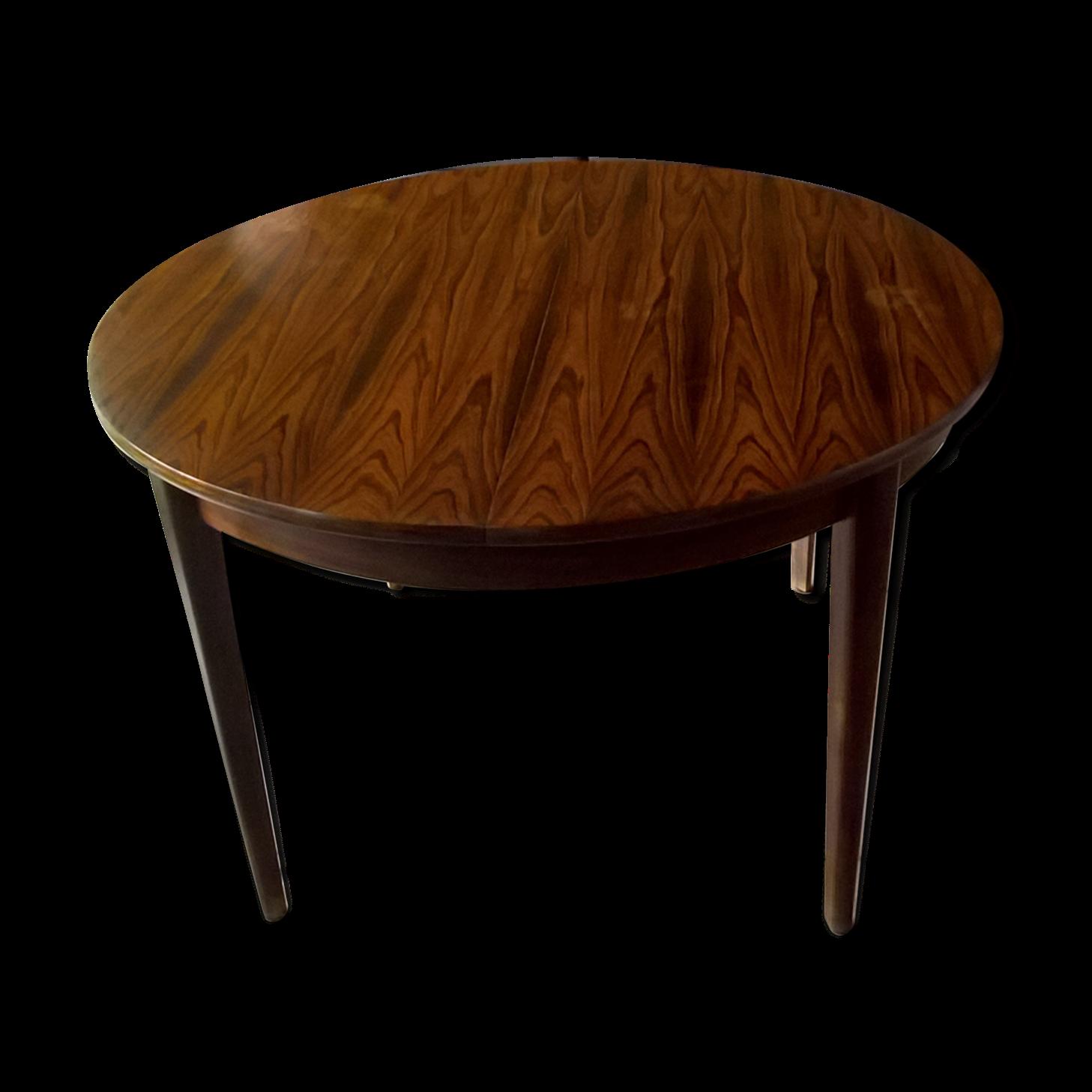 Table de salle à manger extensible scandinave en palissandre de Rio 60s