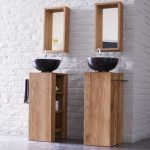 Table de toilette en teck 30 place à droite