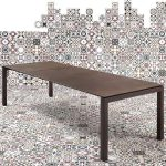 Table mobliberica® extensible en céramique pour salle à manger - Julia