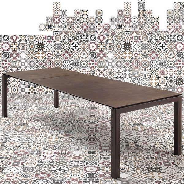 Table mobliberica® extensible en céramique pour salle à manger – Julia