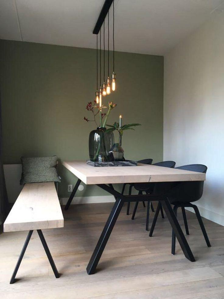 Tables avec structure en acier #stahlgestell #tische