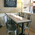 Tables de salle à manger rectangulaires pour petits espaces: points à considérer