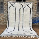 Tapis BENI OURAIN 5x8 marocain, Tapis berbère en laine marocaine - Tapis Teppich