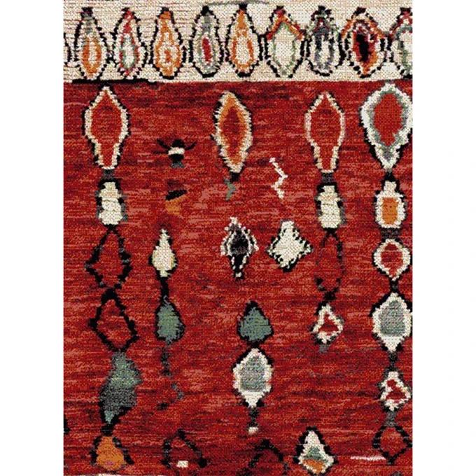 Tapis De Salon Moderne Design Berbère Morocco – Polypropylène Frisée – Taille : 200×290 cm;120×170 cm;080×150 cm;160×230 cm;240×340 cm;060×110 cm