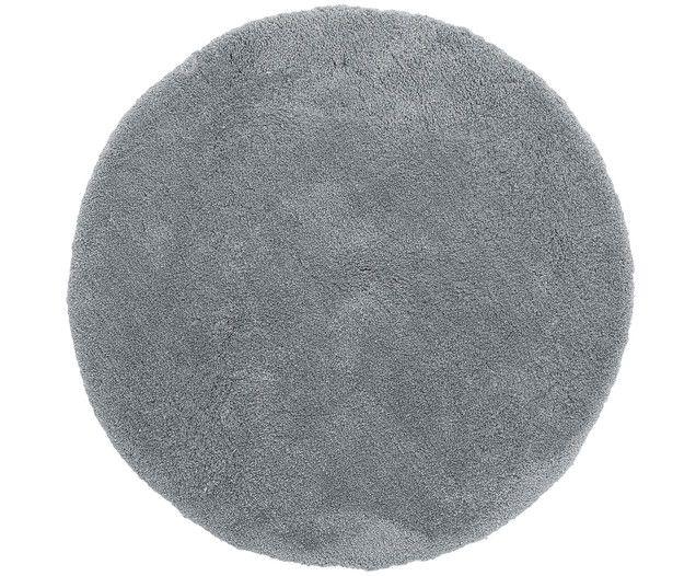 Tapis Leighton haut gris foncé