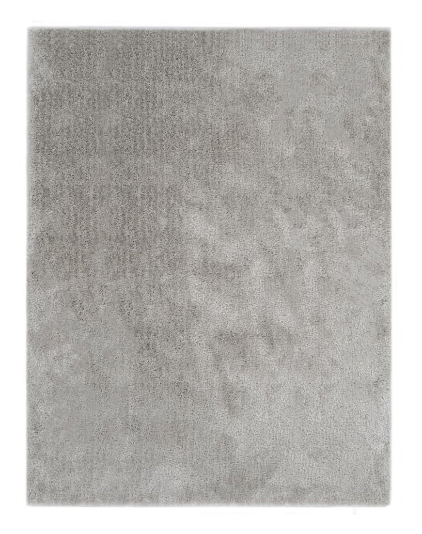 Tapis Shaggy 140 x 200 cm Gris – VIDAXL