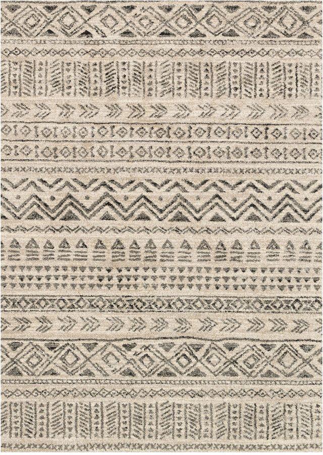 Tapis de chemin de table Loloi Emory Eb-10 Stone / Graphite 2'5 x7'7