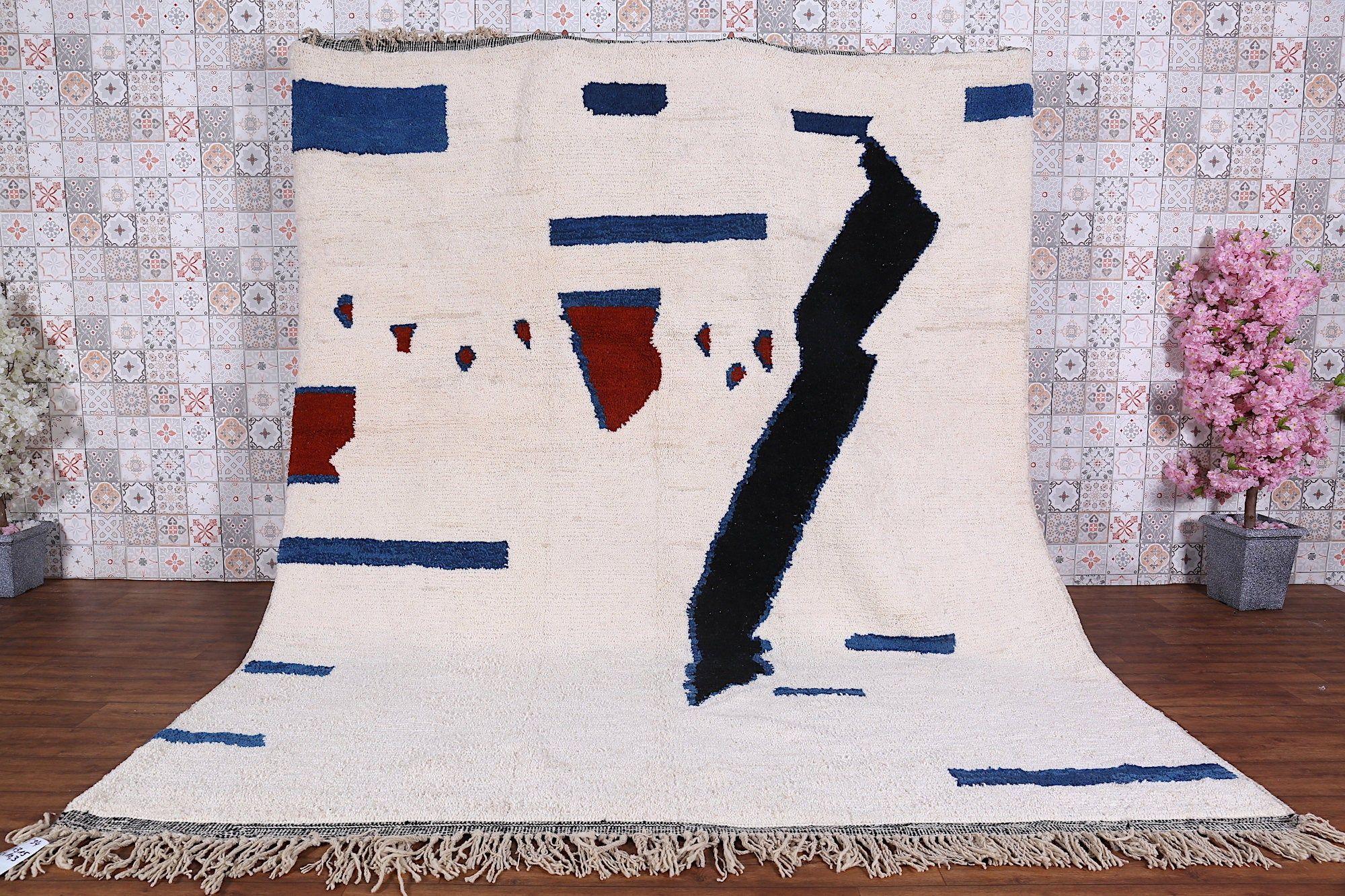 Tapis marocain, 8.7ft x 10.3ft, Grand tapis berbère, Grand tapis, Grand tapis Beniourain, Tapis marocain, Tapis