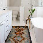Tapis salle de bain sud-ouest avec salle de bain transitionnelle aussi tapis Bohemian Runne ...