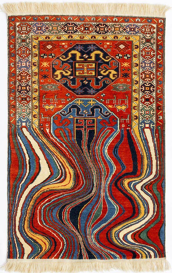 Tapis traditionnels détournés par Faig Ahmed,  #Ahmed #détournés #Faig #par #tapis #tradition…
