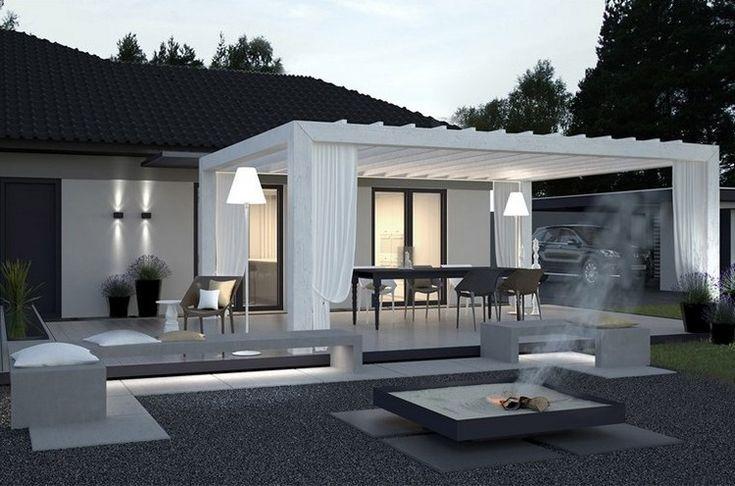Terrasses »Toiture de terrasse moderne – 60 idées différentes en un coup d'œil