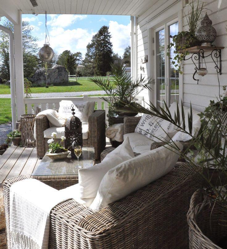 The White (Dream) Farm: Extérieur – #le # Rêve #garden #porches # Plein air #Vita