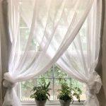 Traitements de fenêtre de ferme simples