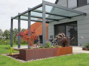 Triphaus – forme et couleur des métaux: toiture de terrasse