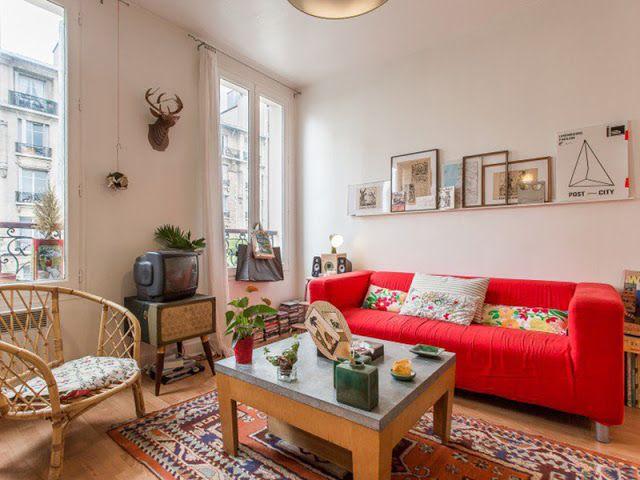 Un appartement bohème de 30m2 à Vincennes