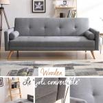 Un canapé-lit scandinave irrésistible. Le style nordique vous va si bien.