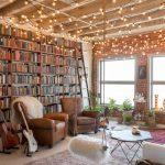 Un loft Artsy Downtown à LA plein de livres