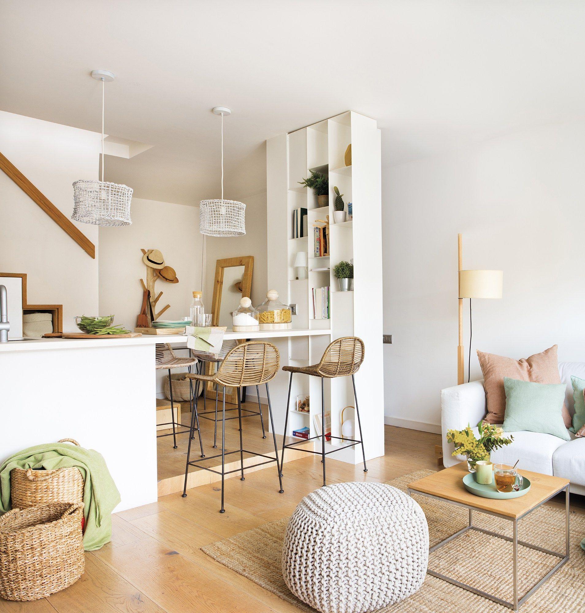 Un petit appartement en duplex pensé au centimètre – PLANETE DECO a homes world