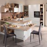Une île avec un plateau comme un bar dans la cuisine, Conforama - #als #Bar #Conforama ...
