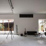 Une maison de photographe et un studio se confondent