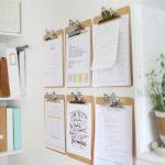 Utilisez le presse-papiers pour vos idées créatives de décoration murale