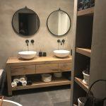Vasques à poser avec mitigeurs muraux... www.espritdubain.com