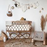 Voici quelquestendances pour une décoration de chambre bébé dans un style V...