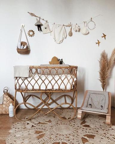 Voici quelquestendances pour une décoration de chambre bébé dans un style V…