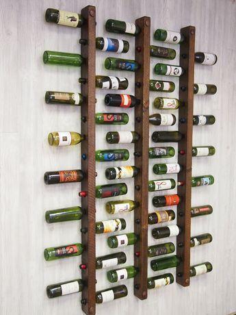Weinregal 16 bouteilles d'échelles ensemble de 3 #flaschenleitern #weinregal