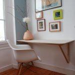 aménager un coin bureau dans le salon : 29 idées à piquer ! | Une hirondelle dans les tiroirs