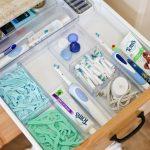 décoration de la maison - Organiser les tiroirs et les armoires de salle de bain