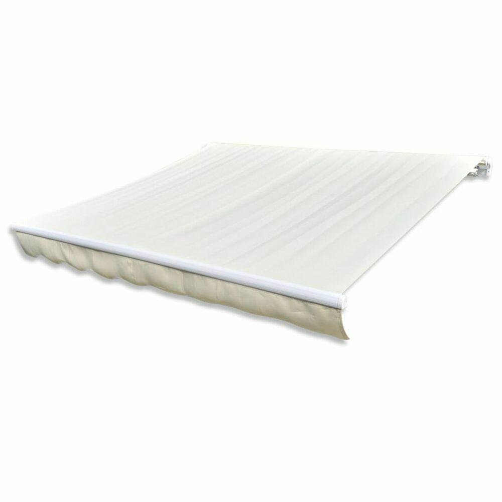 eBay #Sponsored vidaXL auvent en tissu crème auvent couleur crème 43 m …