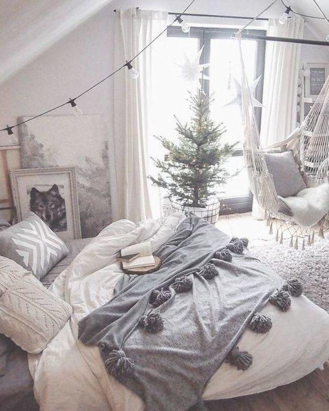 idées de chambre confortables; idées de décoration de chambre pour les adolescents; Petite chambre confortable et …