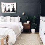 idées de chambre scandinave, design de maison de style nordique, décor de chambre scandinave ...