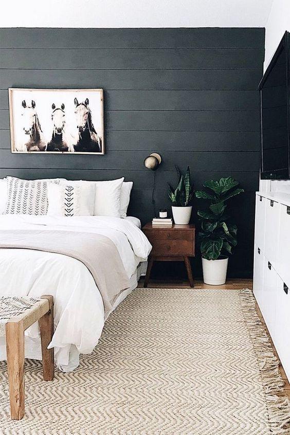 idées de chambre scandinave, design de maison de style nordique, décor de chambre scandinave …