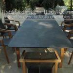 interior design:Meuble Jardin Teck Table Et Fauteuils Tekura Les Jardins Salon J...